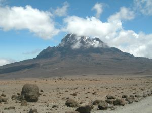 Mount Kilimanjaro (one of several planned destinations)