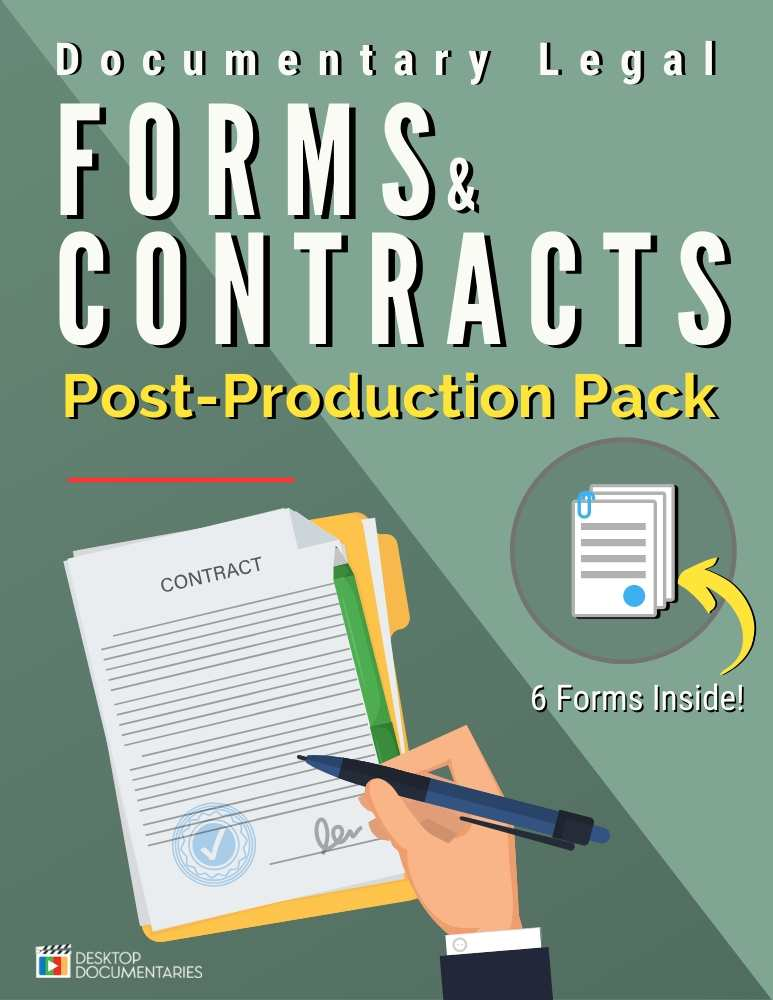 Legal Forms Post Production
