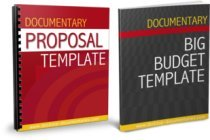 Documentary Proposal and Budget Template Combo Pack
