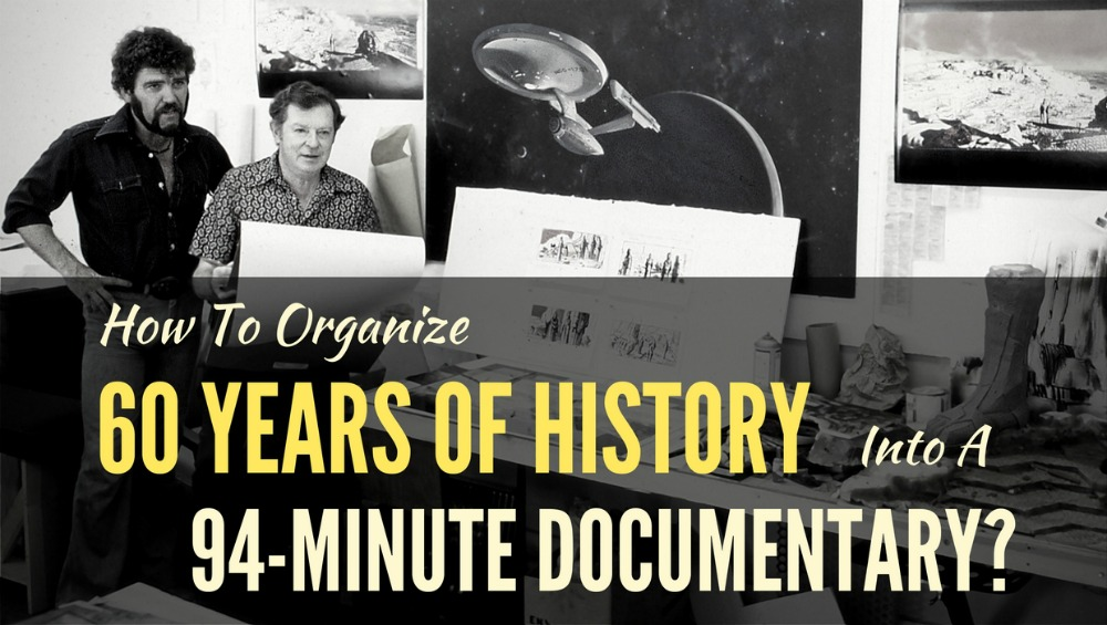 How To Organize 60 Years Of History Into A 94-Minute Documentary