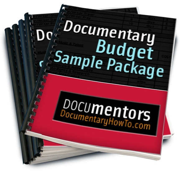 Documentary Budget Sample Package