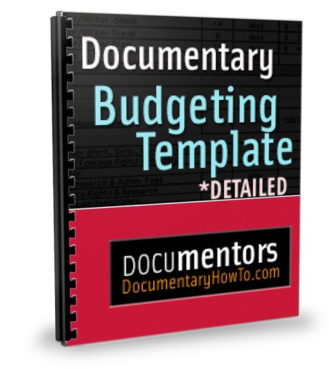 Documentary Budget Template Detailed