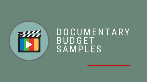 Documentary Budget Samples