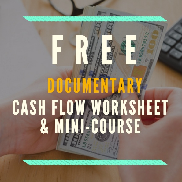 Documentary Budget Cash Flow Worksheet and Mini Course