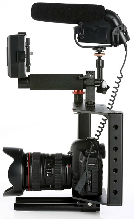 Movo Photo SCG-30 Universal Aluminum DSLR Camera Cage