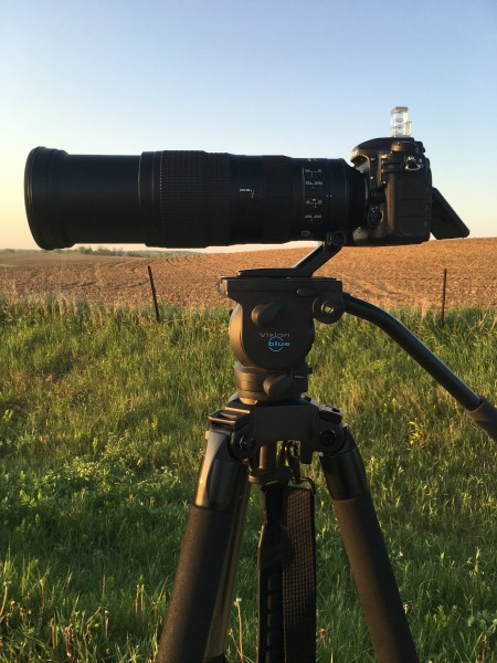 Nikon D500 with Zoom Lens