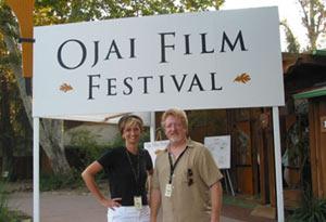Faith Fuller & Michael Booth at the Ojai Film Festival
