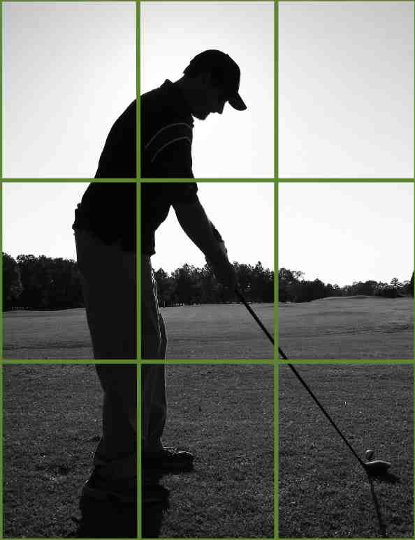 rule of thirds golf shot