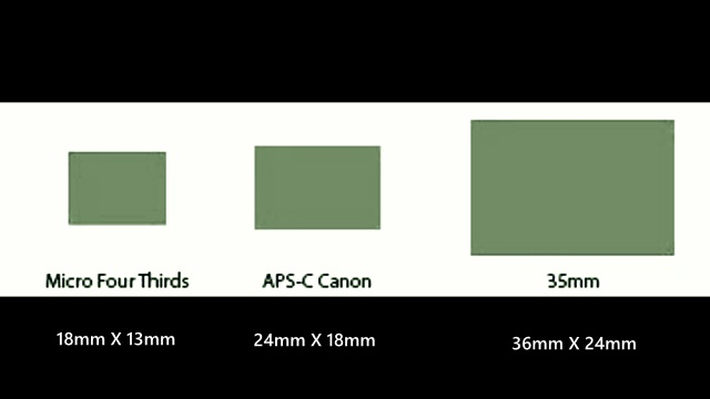 Sensor Size examples
