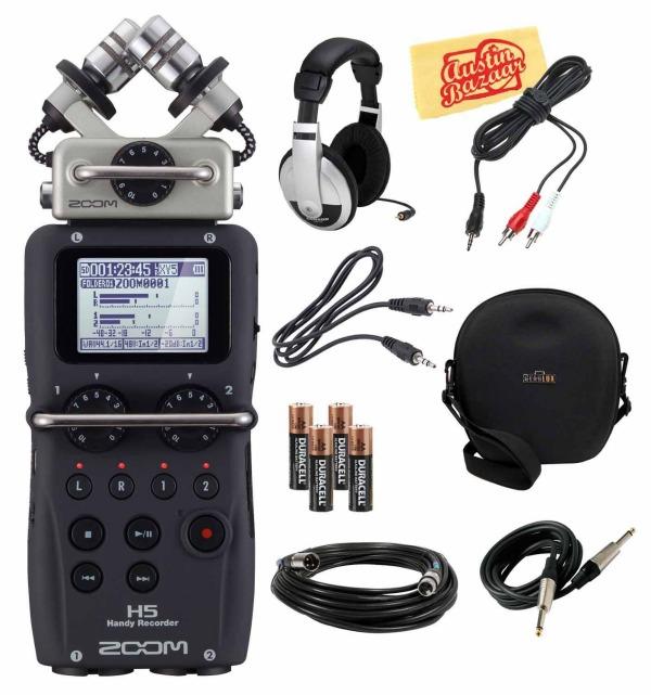 Zoom H5 vs Zoom H4n | Digital Audio Recorders Compared
