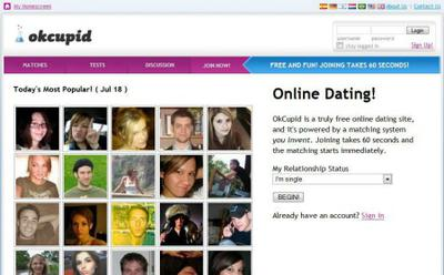 Okcupid dating site free