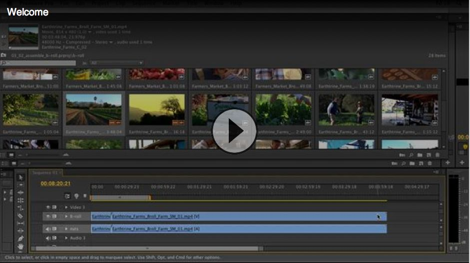 Documentary Editing With Premiere Pro