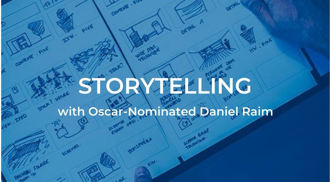 Documentary Scriptwriting and Storytelling Class by Oscar-Nominated Daniel Raim
