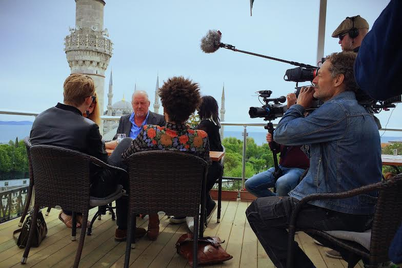 Filming In Turkey