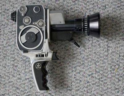 My Dad's Super 8MM Bolex Reflex P-1