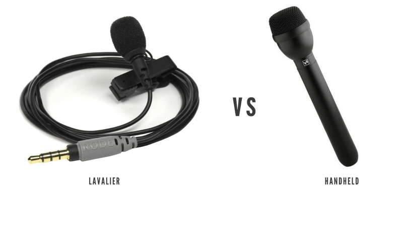 Lavalier vs Handheld Mics