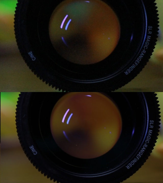Comparing Full Frame Sensor with APS-C (smaller) sensor