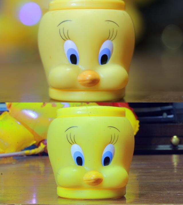 Full Frame sensor image (top)