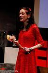 givingn a TEDx talk