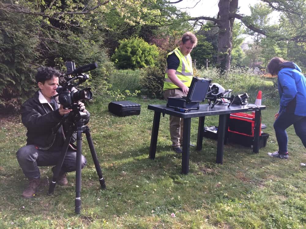 Rehana Rose documentary film crew
