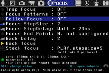 Magic Lantern Focus