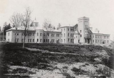 Woodlands School, a controversial residential school for unwanted or disabled people, operated between 1950 and 1996
