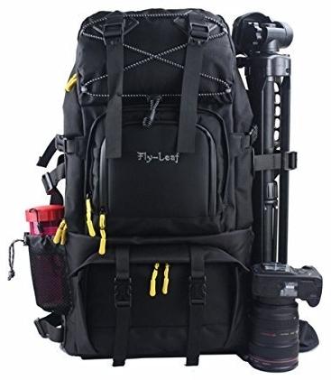 Camera Backpack, Evecase Canvas DSLR Camera Travel Backpack