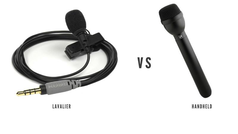 Lavalier vs Handheld Mics