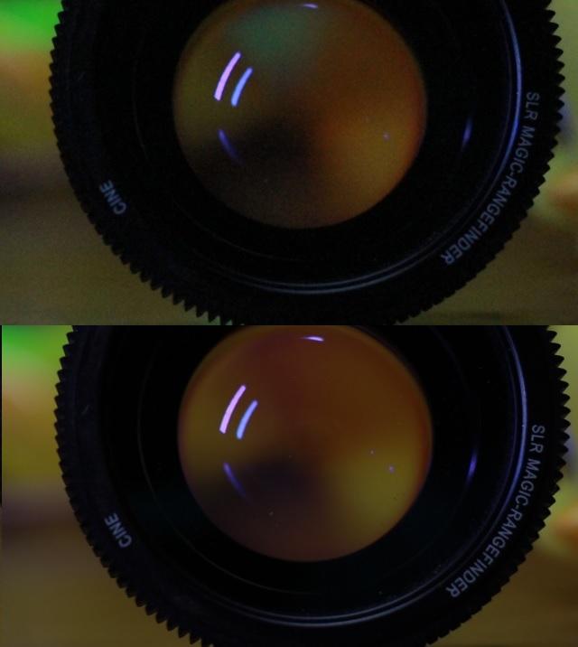 Comparing Full Frame Sensor with APS-C (smaller) sensor